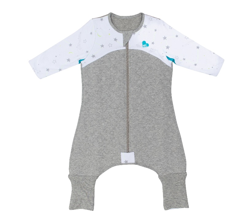 Sleep Suit (6-12M and 12-24M) 2.5 TOG – White