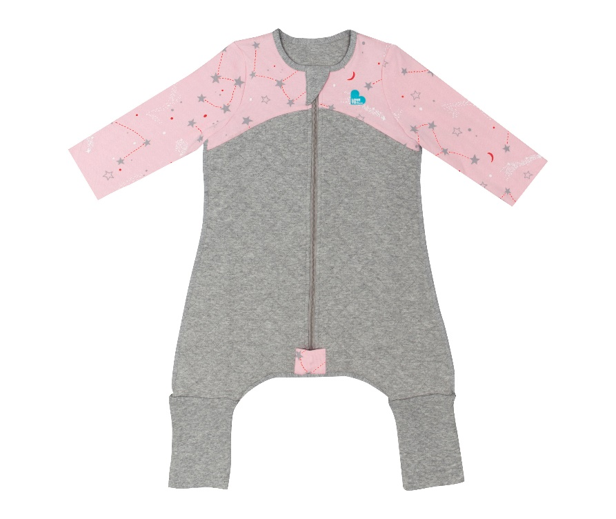Sleep Suit (6-12M and 12-24M) 2.5 TOG – Pink