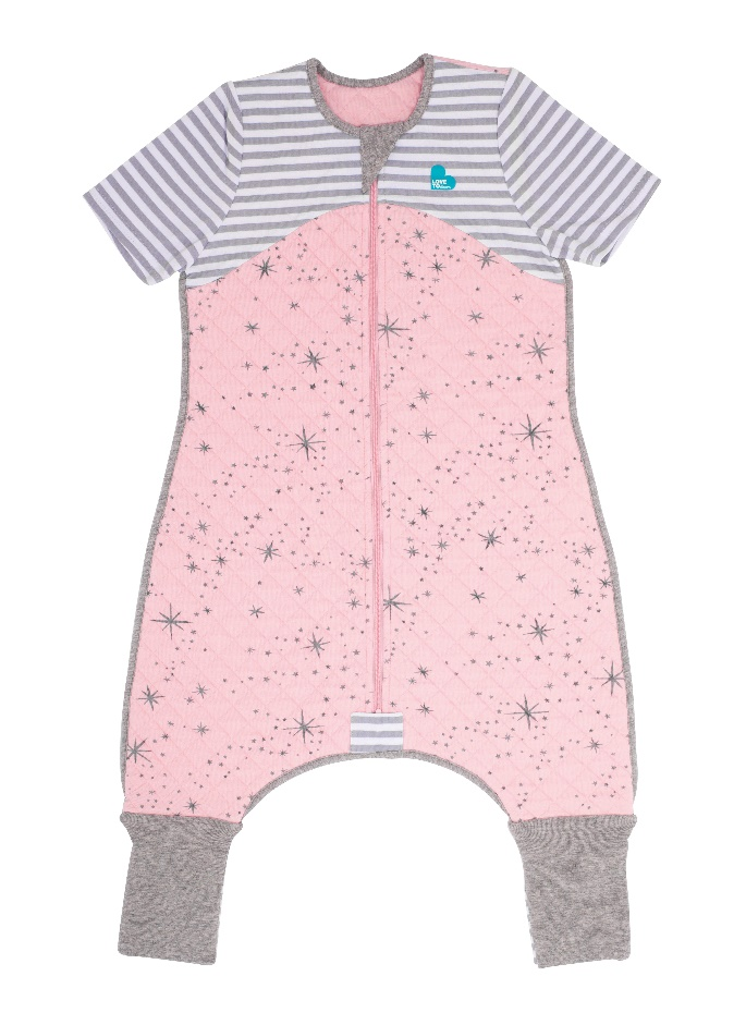 Sleep Suit (6-12M and 12-24M) 1.0 TOG – Pink